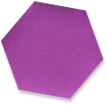purple hexigon
